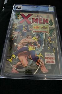XMen Graded #38 CGC 6.5 Blob Vanisher Changeling and Mutant Master Appearances