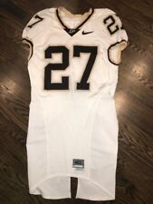 Game Worn Purdue Boilermakers Football Jersey Used Nike #27 Size 40 BARBARETTE