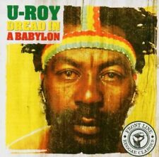 U-roy - Dread In A Babylon NEW CD