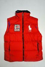 Mens Polo Ralph Lauren USA Flag Down Vest - Size M - New
