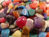 Tumbled Polished Crystal Mineral Specimen Bulk Wholesale 1/4 Pound LOT