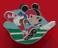 Walt Disney Park Enamel Pin Badge Mickey Mouse Ball Game Sport American Football