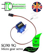 SG90 9G Micro Gear Servo Remote Control RC Robot Helicopter Aeroplane  UK SELLER