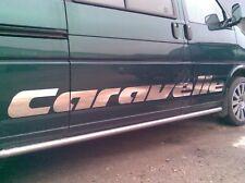 VW T4 T5 CARAVELLE decals. DUB / Caravelle side decal, emblem, Caravelle sticker