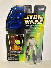 Kenner Hasbro 1996 Star Wars POTF2 AT-ST Driver Employee Sample COOL!!!