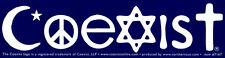 Coexist - Bumper Sticker / Decal
