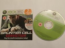 XBOX 360 MAGAZINE DEMO DISC #60 MEGA MAN 10 FINAL FIGHT DOUBLE IMPACT SCRAP MET'