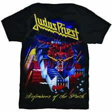Judas Priest Defenders Of The Faith Camiseta Hombre Unisex Oficial Merchandising