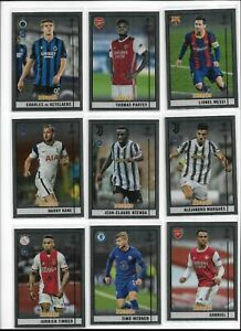 2020/21 Topps Chrome Merlin UEFA Soccer Base Pick Player Complete Your Set
