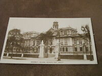 Early real photographic postcard -University college Cathays Park - Cardiff