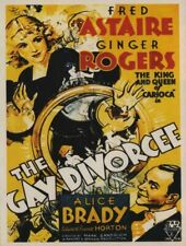 THE GAY DIVORCEE 1934 SUPER 8 B/W SOUND 2 X 400FT CINE 8MM FILM ASTAIRE ROGERS