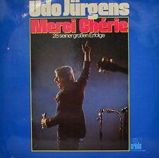 """UDO JÜRGENS - MERCI CHÉRIE - LP 12"""" (S212)"""