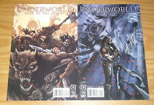 Underworld: Rise of the Lycans #1-2 VF/NM complete series based on the movies