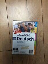 Schülerhilfe DEUTSCH Lernsoftware 5/6 Klasse