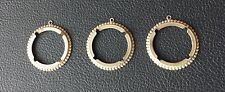 SIX  MORGAN IKE PEACE SILVER  DOLLAR COIN HOLDER BEZELS JEWELRY 4 PRONGS