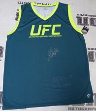 Carla Esparza Anthony Pettis Signed UFC The Ultimate Fighter Jersey PSA/DNA TUF