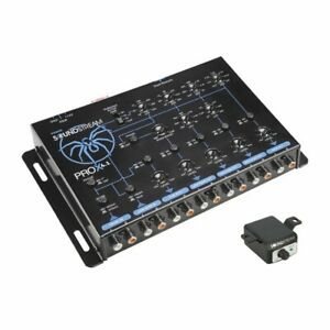 Soundstream PROX4.1 4 Way Electronic Crossover For High SPL Systems W/ Bass Knob