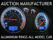 VW GOLF mk4 97-06 2- teilig  LIMITED EDITION ALUMINIUM TACHORINGE TACHO RINGE