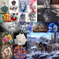 5D DIY Diamond Painting Animals Cross Stitch Kit Home Art Decor Embroidery Craft