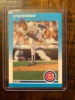 1987 Fleer Update Chicago Cubs #U68 Greg Maddux XRC Rookie card NMT/MT+ HOFer