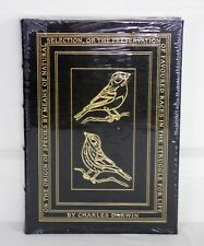 NEW Sealed ON THE ORIGIN OF SPECIES Charles Darwin EASTON PRESS 1st Ed COLLECTOR