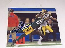 Charles Woodson auto Signed 8x10 Green Bay Packers Michigan HOF