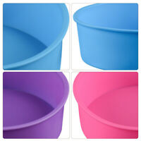DIY 16 Oval Shape Mini Friand Silicone Cake Mould Bakeware Chocolate Trend