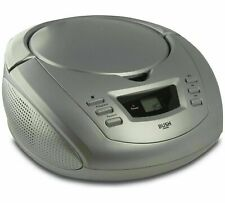 Alba CD Radio Aux in Boombox - Silver RRP £19.99