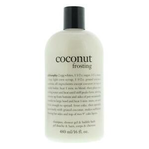 Philosophy Coconut Frosting Shampoo, Shower Gel & Bubble Bath 480ml