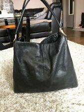 COACH Madison Leather Phoebe Shoulder Bag Brass Black F24621