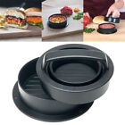 3 in 1 Stuffed Burger Press Hamburger Patty Maker Sliders BBQ Grill Mold Tool
