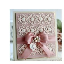 Lace Flower Cutting Dies Molding Cuts Embossing Machine Paper Crafts Accessories