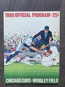 9/6/80 Chicago Cubs vs Cincinnati Reds, Reds 6-1