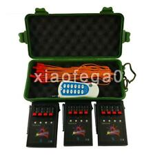 Profession 12 Cue Wireless Fireworks Firing system Remote control+12pcs Igniters