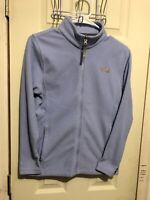 The North Face Girls Size Large 14/16 Fleece Jacket Lilac Full Zip