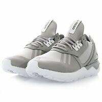 Adidas Mens Tubular Runner Fabric Low Top Lace Up Running Sneaker