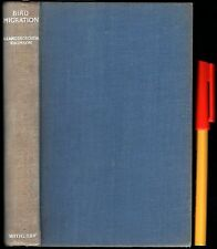 UK 1936 1st Edition BIRDWATCHING BIRD MIGRATION 224 pg A Landsborough Thomson