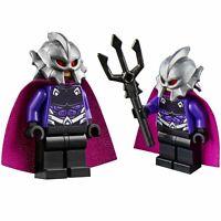 LEGO Ocean Master Minifigure Marvel Batman Super Heroes + Trident