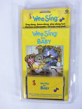 Wee Sing for Baby with Book Audio Cassette by Pamela Conn Beall 1996 Crack Case
