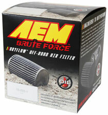 """AEM Universal 3"""" FLG 5"""" OD 6.5"""" H Dryflow Brute Off Road Conical RED Air Filter"""