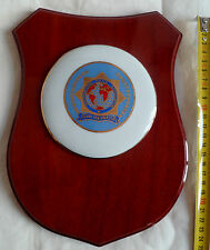IPA INTERNATIONAL POLICE ASSOCIATION PLAQUE PORCELAINE CADEAU MEDAILLE COLLECTOR