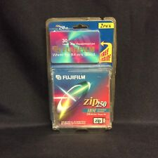 New - FujiFilm Zip 250 Cartridge Set Of 2