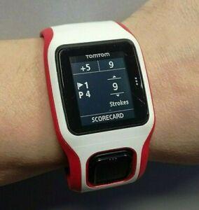 TomTom Golfer GPS 8RG0 Watch Working good.