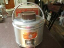 VINTAGE POLORON VACUCEL INSULATED 1 GALLON FEATHERFLITE ALUMINUM JUG CAMPING
