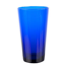 Set of 6 Libbey 171B Cobalt Blue 17.25 oz Cooler Glass