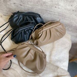 Original Celeb Genuine Leather The Pouch Shoulder Bag Clutch Cloud Bag Star