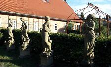 Vier Jahreszeiten, Gartenskulpturen, Statue 4 Jahreszeiten, Natursteinskulptur,