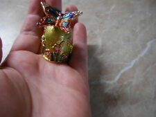 "Thimble NEW Russian Сollectible Handpainted Decorative Enamel ""butterfly"""