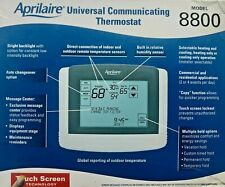 Aprilaire 8800 NEW Universal Communicating Thermostat Touch Screen Automation