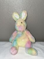 "Douglas Pastel Candy Marshmallow Rainbow Bunny Rabbit Plush Stuffed Animal 10"""